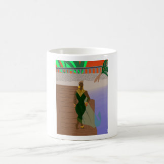 Pier Scenery Coffee Mug