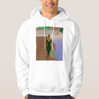 Pier Scenery Hooded Pullover
