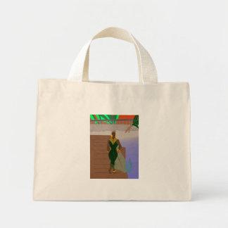 Pier Scenery Mini Tote Bag
