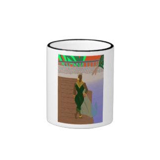 Pier Scenery Ringer Mug