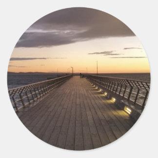 Pier Classic Round Sticker