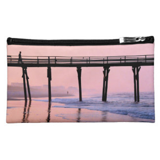Pier Sunrise Cosmetic Bags
