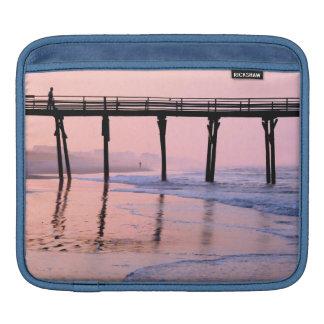 Pier Sunrise ipad Sleeve