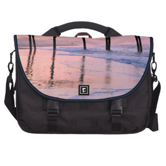 Pier Sunrise Laptop Computer Bag