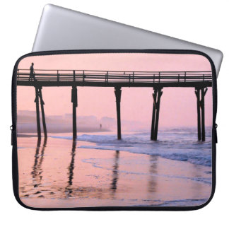 Pier Sunrise Laptop Sleeve