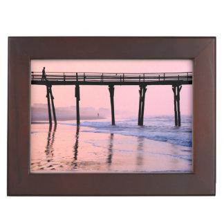 Pier Sunrise Memory Box