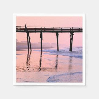 Pier Sunrise Paper Napkin