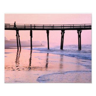 Pier Sunrise Photo Print