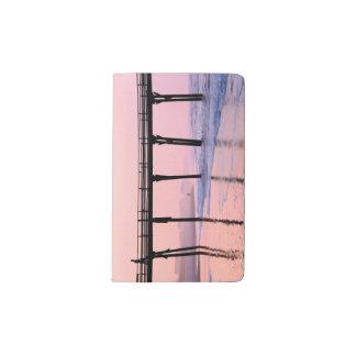 Pier Sunrise Pocket Moleskine Notebook