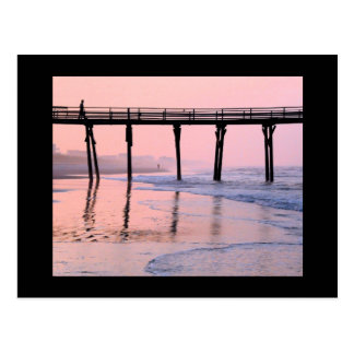 Pier Sunrise Postcard