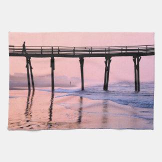 Pier Sunrise Towel