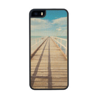 Pier Carved® Maple iPhone 5 Slim Case