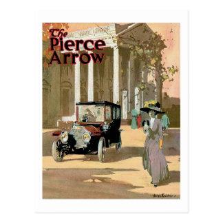 Pierce Arrow 3 Postcard