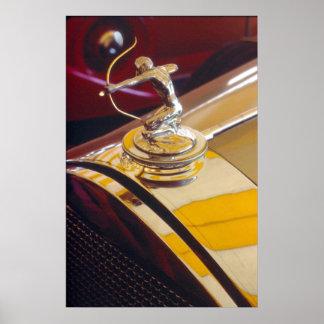 Pierce-Arrow archer radiator ornament Posters
