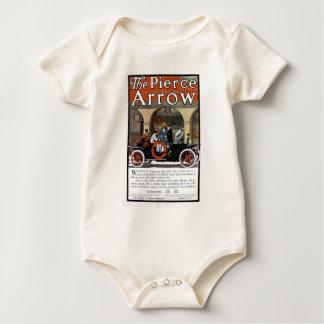 Pierce Arrow Motor Car Baby Bodysuit