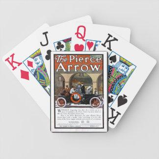 Pierce Arrow Motor Car Bicycle Playing Cards