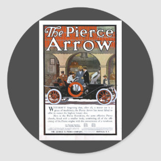 Pierce Arrow Motor Car Classic Round Sticker