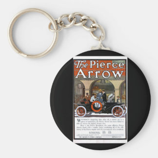 Pierce Arrow Motor Car Keychain