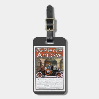 Pierce Arrow Motor Car Luggage Tag