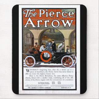 Pierce Arrow Motor Car Mouse Pad