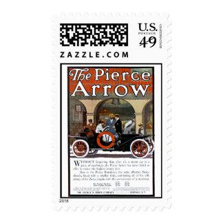 Pierce Arrow Motor Car Postage Stamp