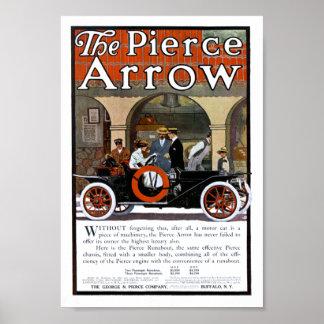 Pierce Arrow Motor Car Poster