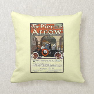 Pierce Arrow Motor Car Throw Pillow