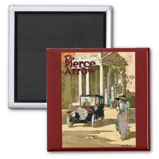 Pierce Arrow Vintage Advertisement 2 Inch Square Magnet