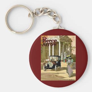 Pierce Arrow Vintage Advertisement Basic Round Button Keychain