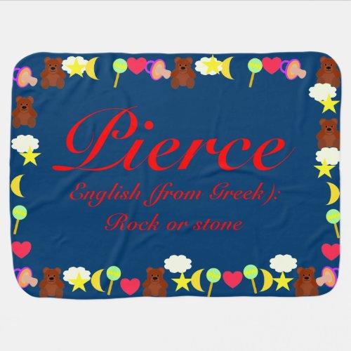 Pierce Baby Blanket Template