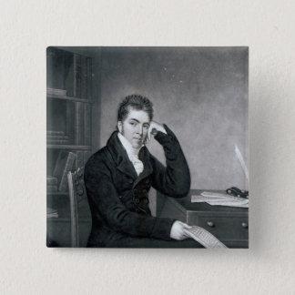 Pierce Egan, engraved by Charles Turner Button