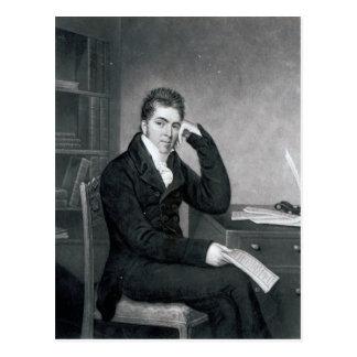 Pierce Egan, engraved by Charles Turner Postcard