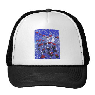 Pierced and Broken Hearted Trucker Hat