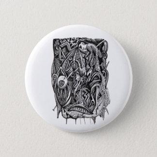 Pierced, by Brian Benson Pinback Button