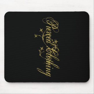 Pierced Clothing Floral Mouse Pad
