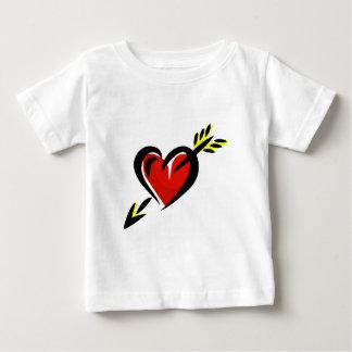 Pierced Heart Arrow Valentine Baby T-Shirt