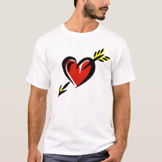 Pierced Heart Arrow Valentine T-Shirt