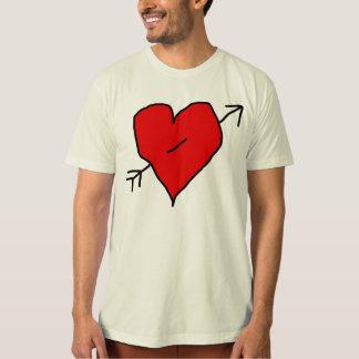 pierced heart T-Shirt