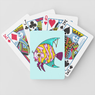 Pierced Rocker Fish Playing Cards