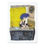 "Piercing Booth Punk 5"" X 7"" Invitation Card"