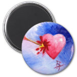 Piercing Heart aceo Magnet