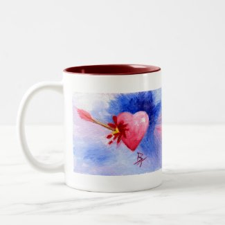 Piercing Heart mug