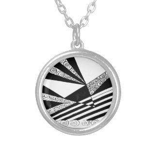 Piercing Levels of Expectations Silver Plated Necklace