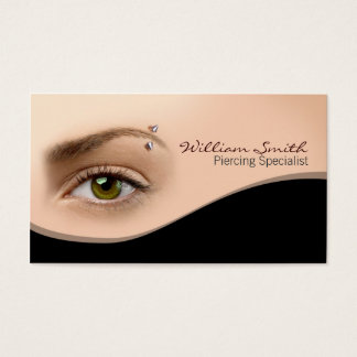 Piercing specialist Business card