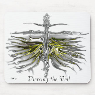 """""""Piercing the Veil"""" Mouse Pad"""
