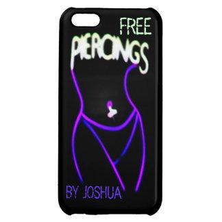 Piercings Neon(Purple)Lady Silhouette iPhone 5c iPhone 5C Cases