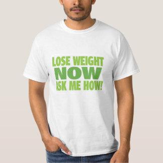 Pierda el peso ahora me preguntan cómo playera