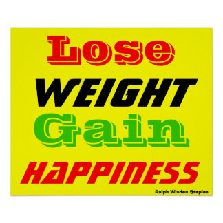 Pierda el peso impresiones