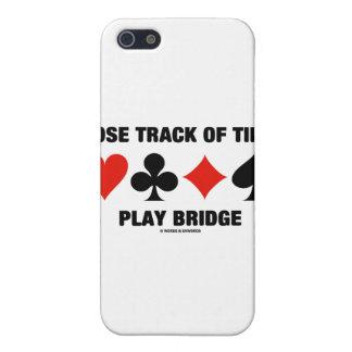 Pierda la pista del puente del juego del tiempo (l iPhone 5 carcasa
