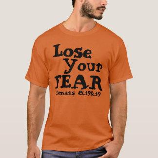 Pierda su camiseta del verso de la biblia del